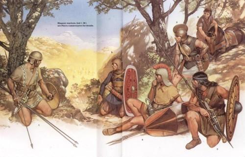 Испанские воины в засаде (II в. до н.э.)