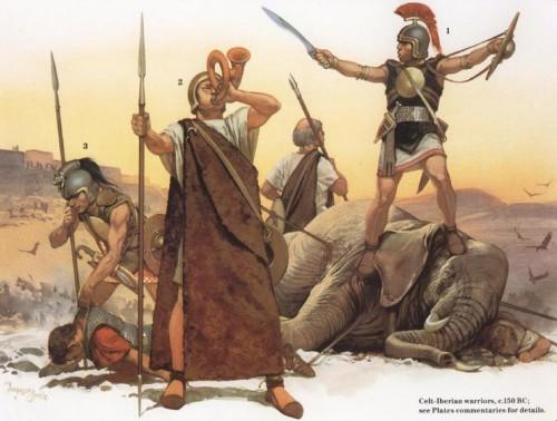 Кельтиберские воины (150 г. до н.э.)