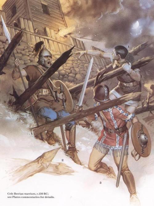 Кельтиберские воины (130 г. до н.э.)