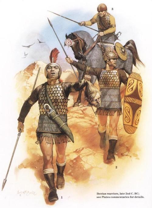 Иберийские воины (конец II в. до н.э.)