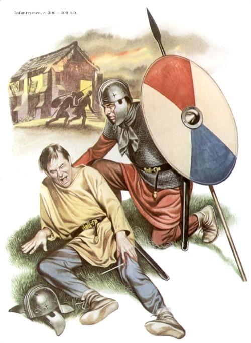 Пехотинцы (300-400 гг. н.э.)