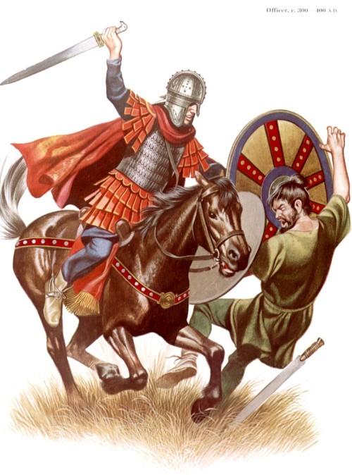 Офицер (300-400 гг. н.э.)