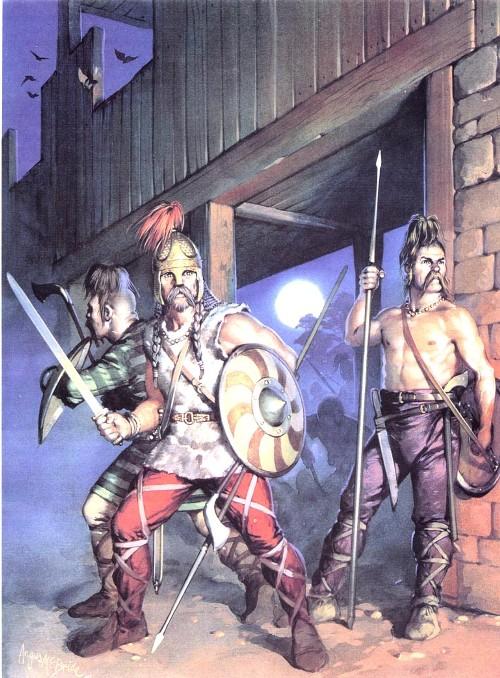 Нападение аллеманов на римский форт (III в. н.э.)