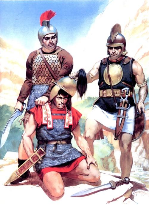 Александр Македонский принимает кельтских послов (конец IV в. до н.э.)