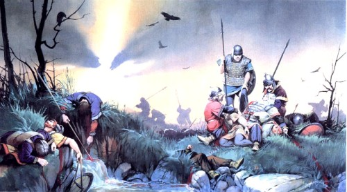 Гибель Теодориха, короля визиготов (битва на Каталаунских полях, 451 г. н.э.)
