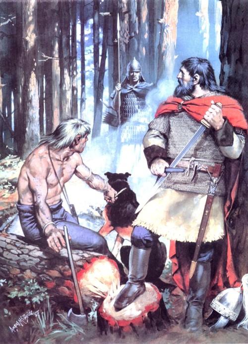 Готы и сармат (Восточная Европа, IV в. н.э.)