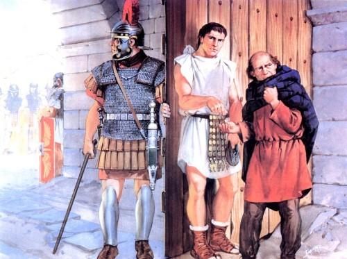 Римляне платят британскому шпиону (Северная Британия, I в. н.э.)