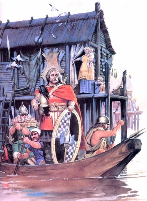 Скифы во время набега во Фракию (V в. до н.э.)
