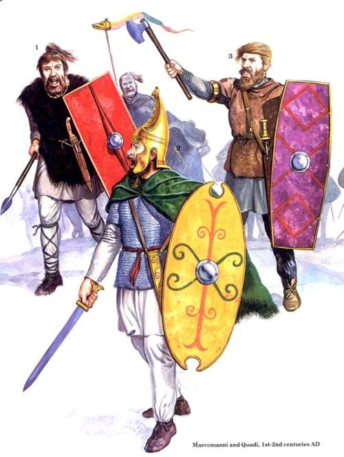 Маркоманы и квады (I-II в. н.э.)