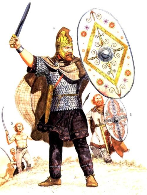 Воины-даки (II в. н.э.)