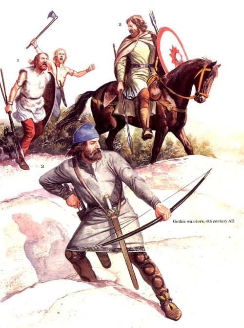 Готские воины (IV в. н.э.)