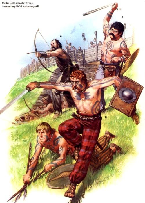 Кельтская легкая пехота (I в. до н.э. - I в. н.э.)