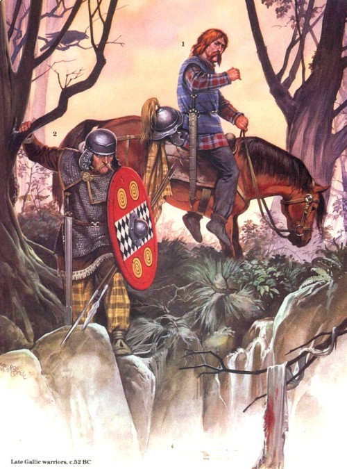 Враги рима кельты галлии и британии