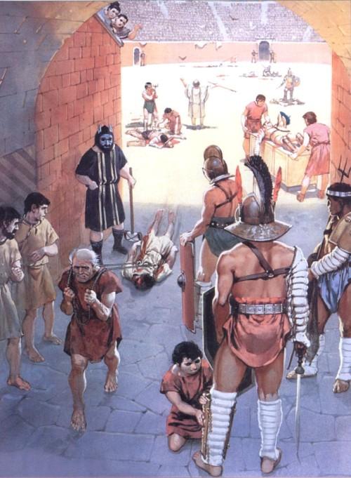 Дневное представление (ноксии, Помпеи, 78 г. н.э.)