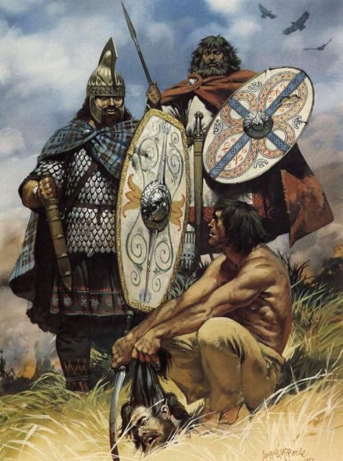 Дакийские кельты (II в.н.э.)