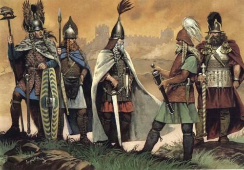Кельтская крепость в Центральной Европе (вторая половина V в. до н.э.)