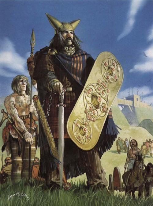 Кассивелаун, британский вождь (середина I в. до н.э.)