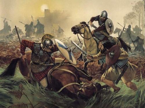 Кельтские моряки на службе у романо-британцев (VI в.н.э.)