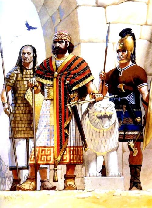 Муватталис, царь хеттов (конец XIV в. до н.э.).