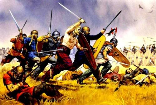 Сражение римлян с галлами (52 г. до н.э.).