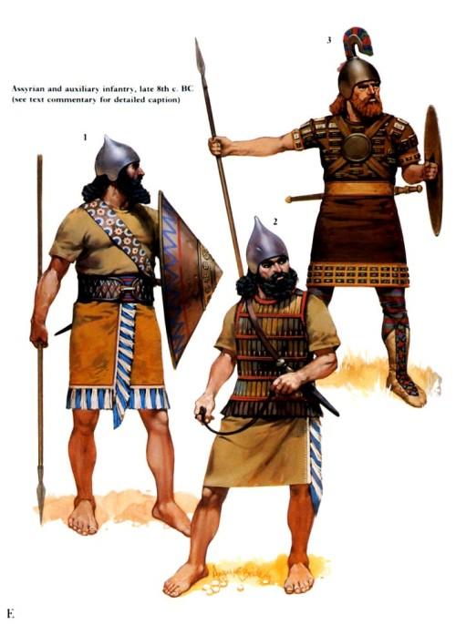 Тиглат-Пайласар III в походе (конец VIII в. до н.э.)