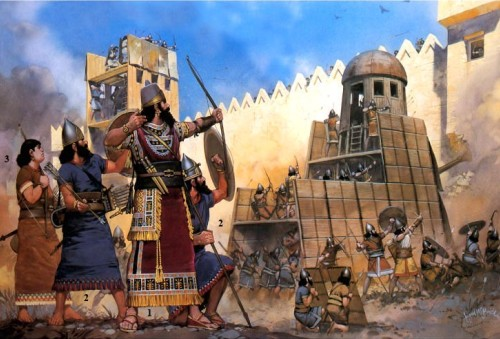 The assyrian people began to convert to christianity from 1st century to 3rd century