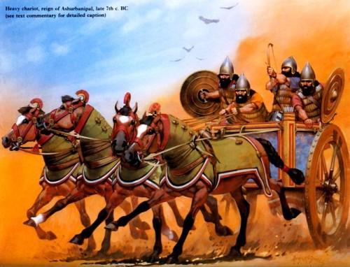 Кавалерия и пехота 655 г до н э