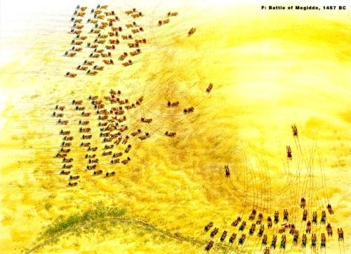 Битва колесниц у Мегиддо (1457 г. до н.э.)