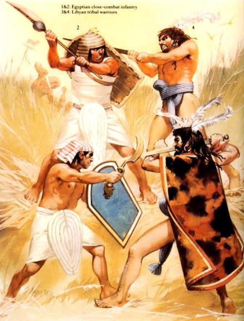Египетские тяжелые пехотинцы 3 4