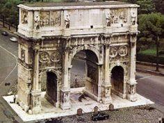 Архитектура Древнего Рима Древний Рим Триумфальная арка в Риме